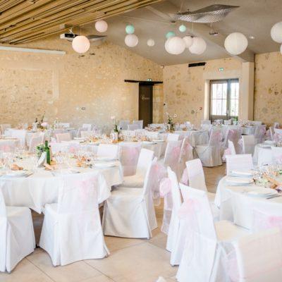 La salle pour votre mariage au Château de Seguin