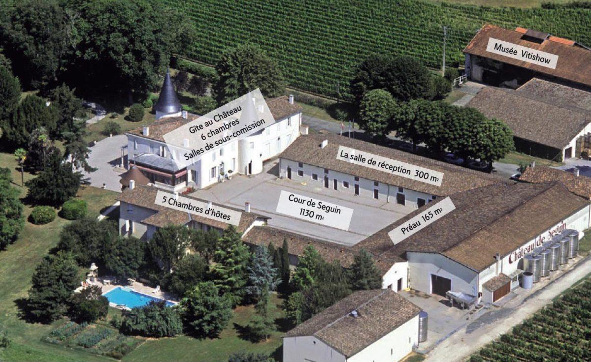 Château de Seguin, mariage séminaire réceptif professionnels dans une propriété viticole à Bordeaux